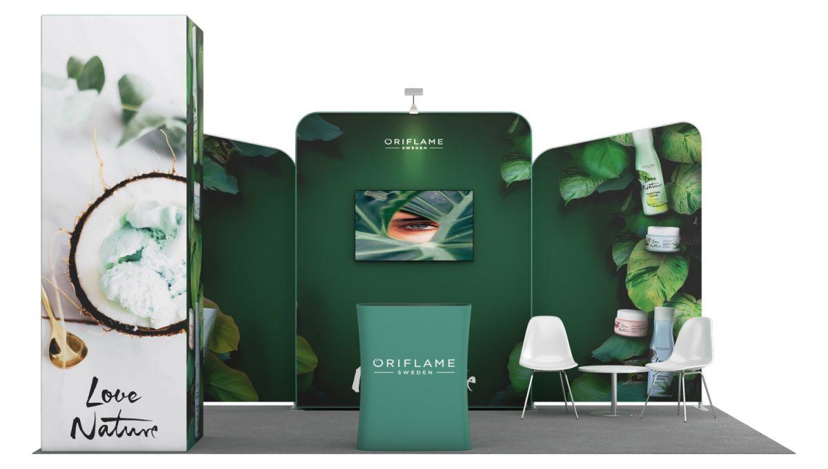 Stand Expo Modular Flora 3