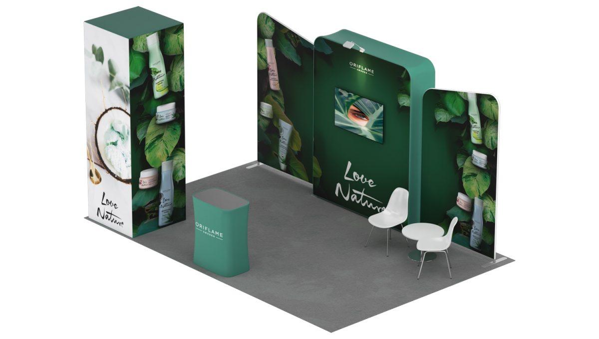 Stand Expo Modular Flora 5