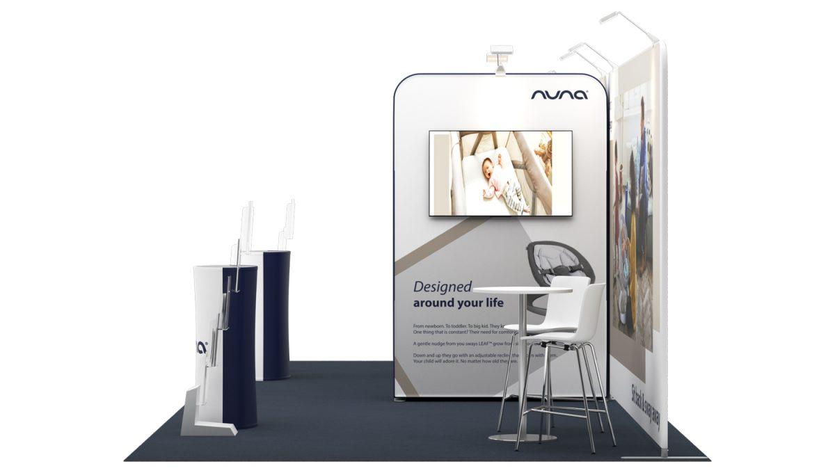 Stand Expozitional Modular Nola 3