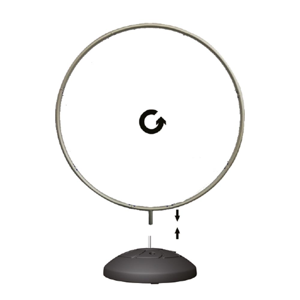 Totem Display Wheel structura