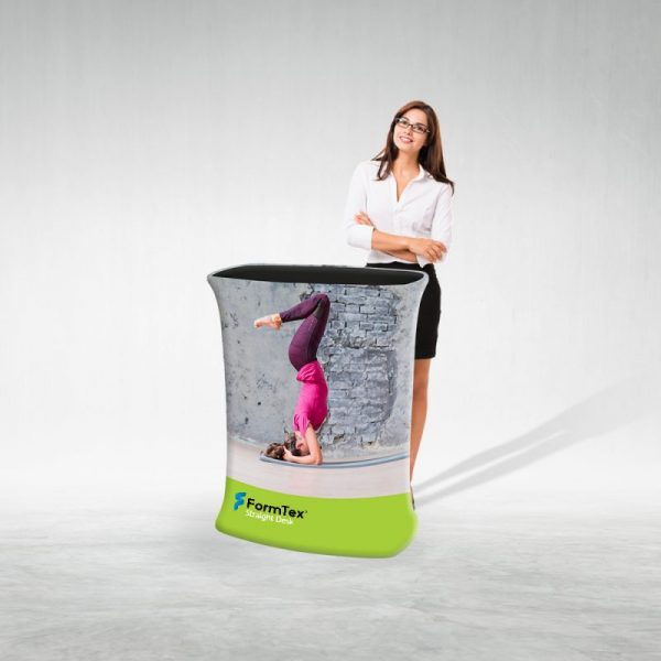 Pop Up Desk Textil Drept