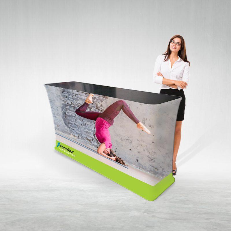 Pop Up Desk Textil Large