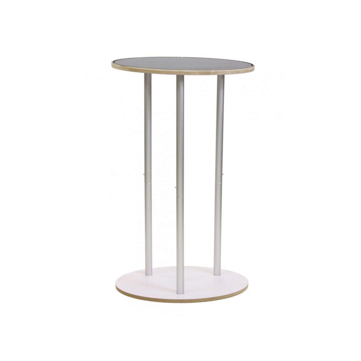 Pop Up Desk Textil Oval structura