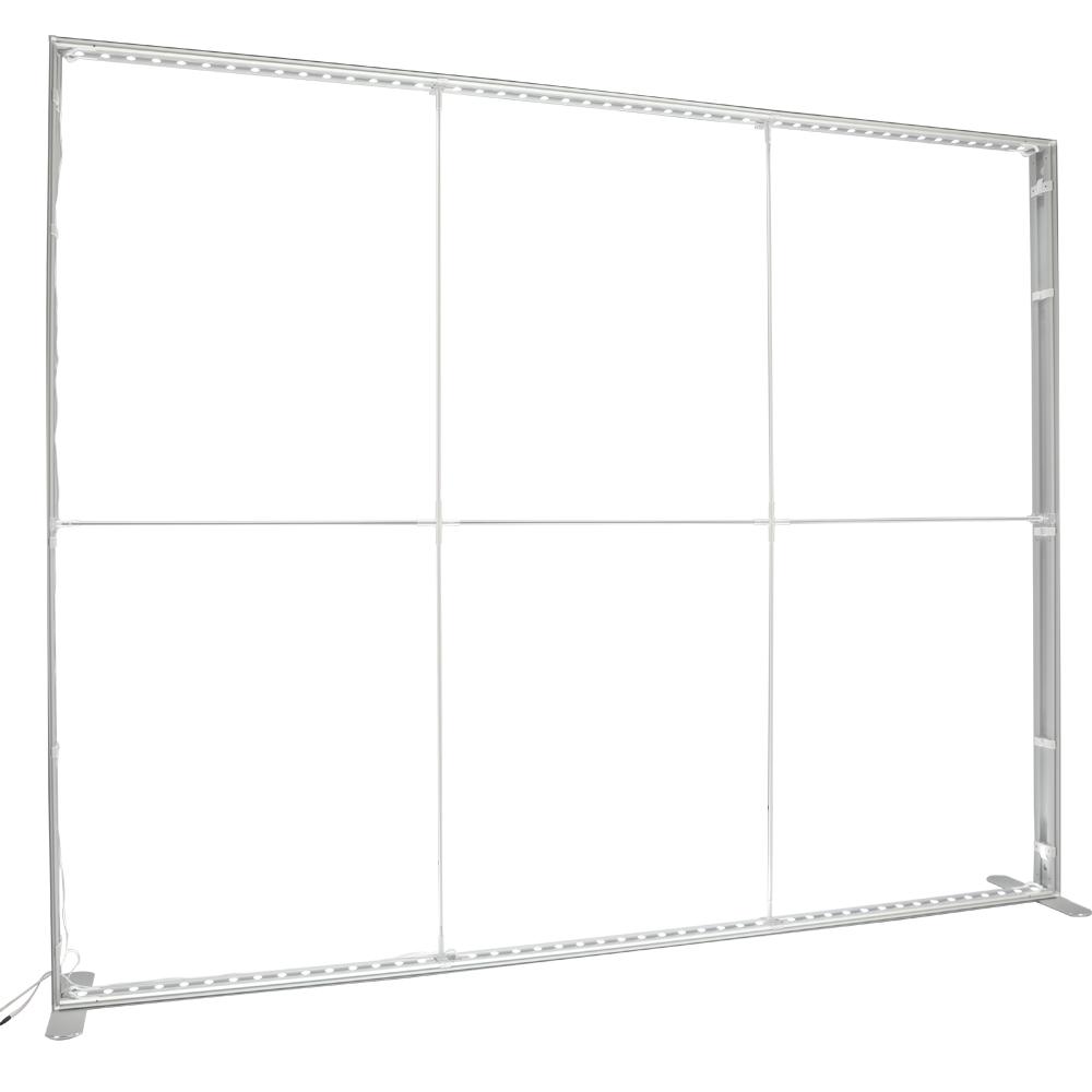 Caseta luminoasa portabila perete-LED-_structura