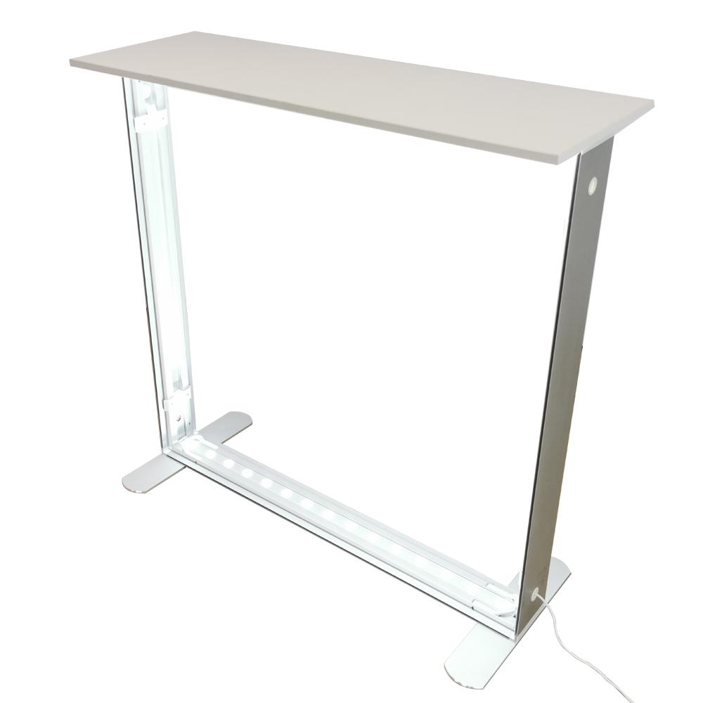 Desk portabil luminos-structura