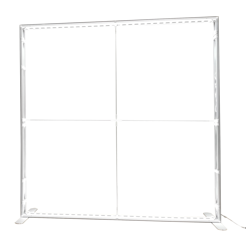 LED wall 2 m structure