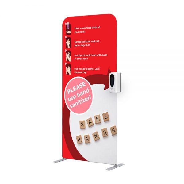 Statie Igienizare Click 1m Cu Dozator Automat Dezinfectant