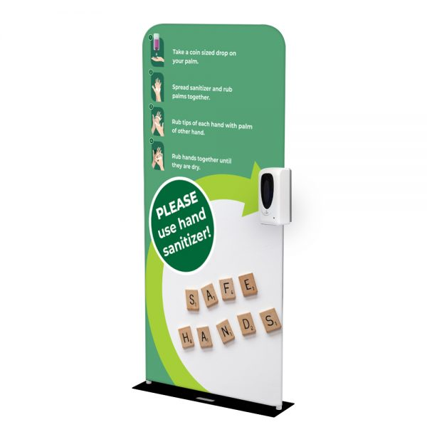 Statie Igienizare Monolith 90 Cu Dozator Automat Dezinfectant