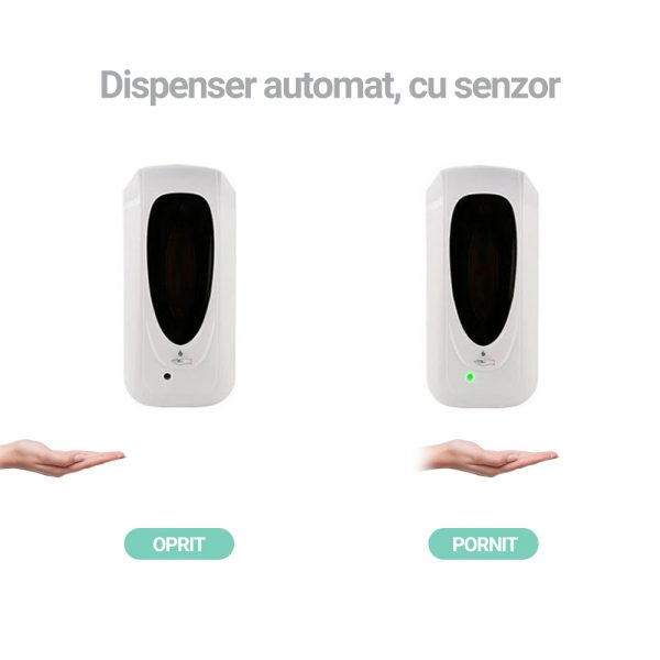 dispenser dezinfectant automat cu senzor 2